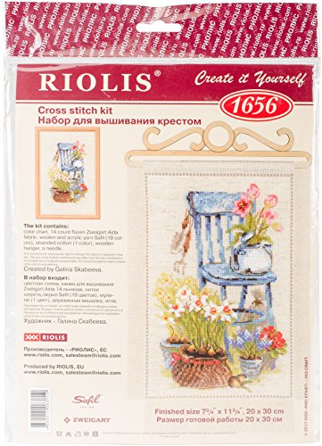 Garden Cottage-kits (RIOLIS Counted Cross Stitch Kit 7.75