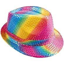 P  tit payaso sombrero tejido lentejuelas adulto – Borsalino 60277c69b4a