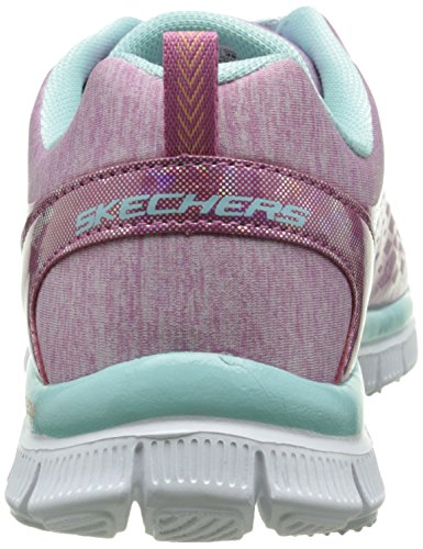 Skechers (SKEES) Skech Appeal-surprise N'shine, Scarpe Tecniche Bambine e Ragazze Rosa (PKAQ)