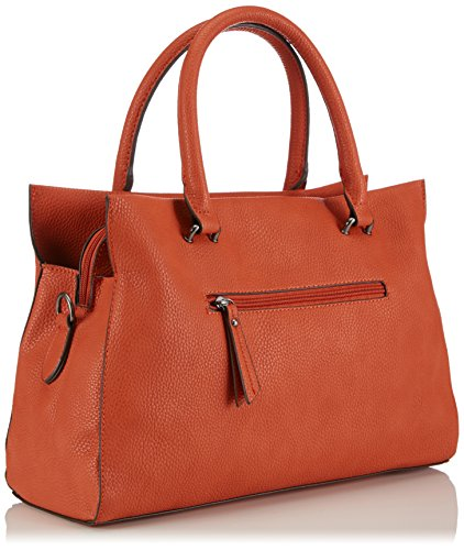 Tamaris - Yumi Business Bag, Borsa a mano Donna Rosso (Rot (paprika))