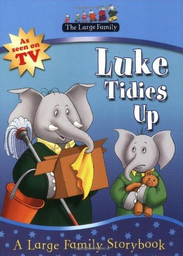 Luke tidies up