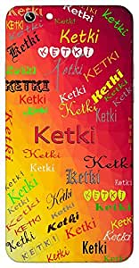 Ketki (Flower) Name & Sign Printed All over customize & Personalized!! Protective back cover for your Smart Phone : Huawei 4X