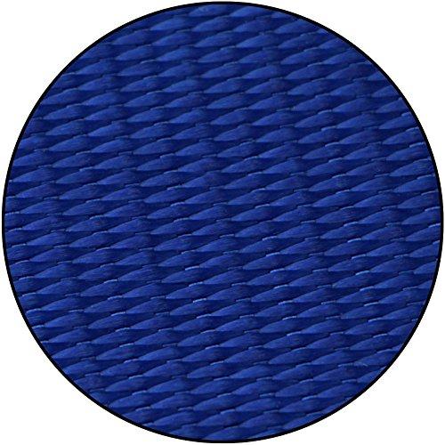 Slackline mit Schriftzug I Love Slackline in verschiedenen Längen und Farben von Alpidex, Slackline Länge:10m - 2t, Slackline Farbe:I Love Slackline. blau - 3