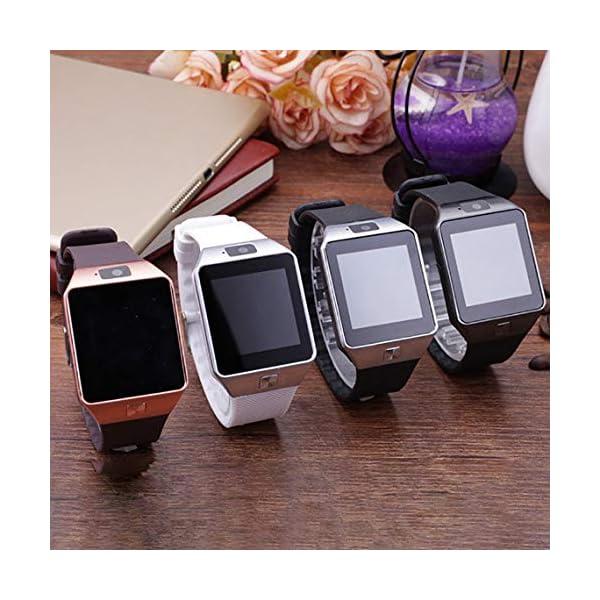 Zinniaya Smart Watch Dz09 Gold Silver Smartwatch Relojes para iOS para Android Sim Card Camera Camera Watch 6