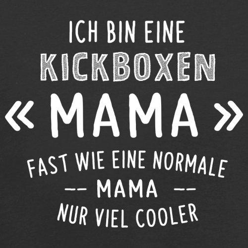 Ich bin eine Kickboxen Mama - Damen T-Shirt - 14 Farben Schwarz