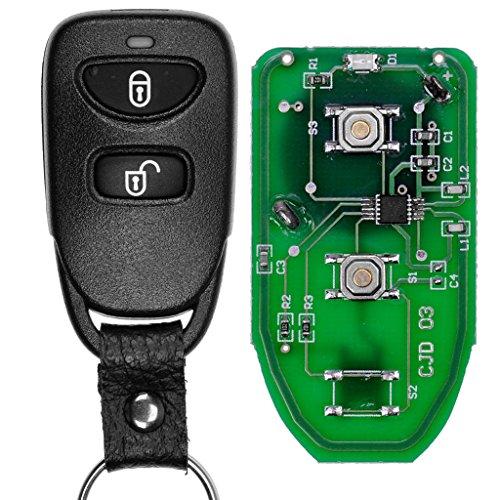 Auto chiave telecomando 1X Trasmettitore Radio Alloggiamento + 1X 434MHz TXD + 1X batteria per K