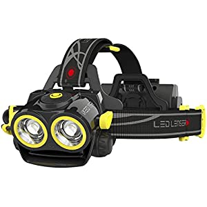 LED Lenser iXEO19R Multi Light Rechargeable LED Head Torch Black