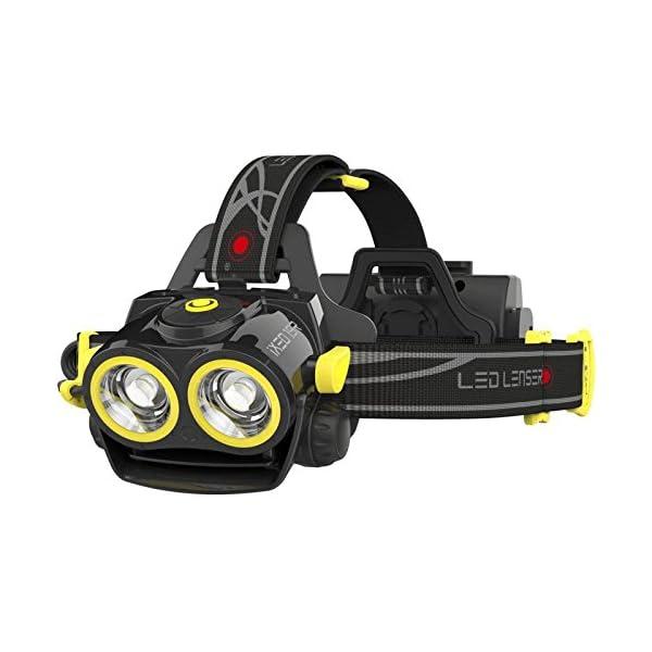 LED Lenser iXEO19R Multi Light Rechargeable LED Head Torch Black
