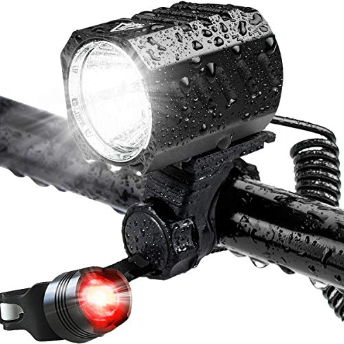 USB WiederaufladbareTaschenlampe Wasserdicht Super Helle IP67 Waterproof