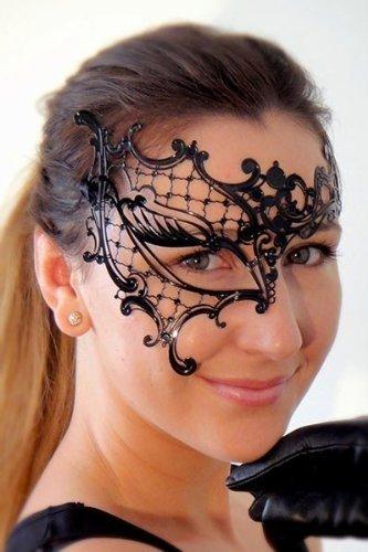 Neues Original Lady 's Phantom Half Eye Maske mit eleganter Diamanten für venezianischen Masquerade Ball, Abschlussball, Sweet 16& Hochzeit Parteien