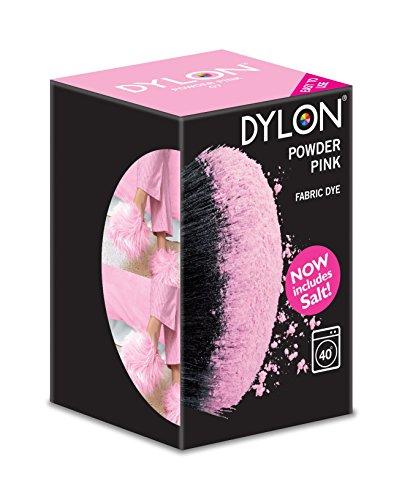 Dylon Machine Dye - Teinture vêtements Poudre Rose 350g Inclus Sel