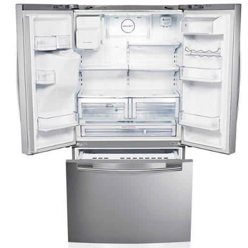 Samsung RFG23UERS1 G-series 3-door Large Capacity Freestanding Fridge Freezer – Real Stainless Steel
