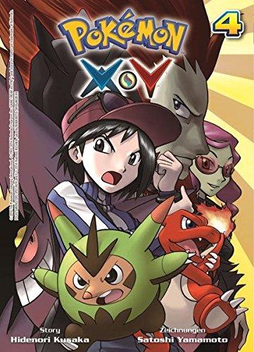 Pokémon X und Y: Bd. 4 (4 X 4-band)