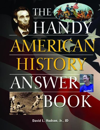 The Handy American History Answer Book (Handy Answer Books)