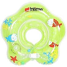 Flotador ibanana ajustable para bebés en forma de anillo, para bebés de 1 – 12