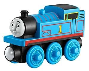 Mattel Fisher-Price Y4083 - Thomas und seine Freunde Holzlokomotive Thomas, klein