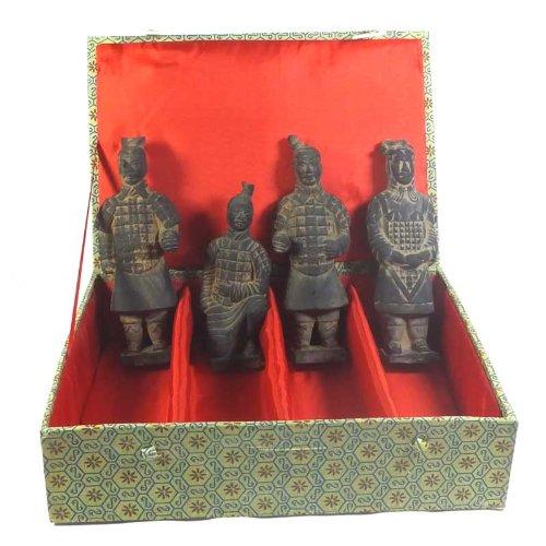 Terrakotta-Krieger, 4 Stück im Set