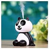 Rameng Panda Mignon Portable Mini USB Diffuser Huile Essentielle Humidificateurs Purificateur d'air Portable Brouillard Aromathérapie Pour Bureau, Maison, Chambre (B)