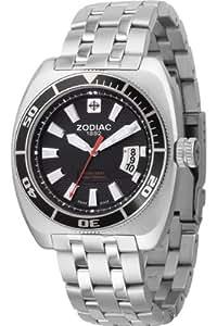 Zodiac - ZO4506 - Montre Homme - Quartz Analogique - Dateur - Bracelet Acier