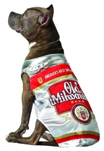 Rasta Imposta Old Milwaukee Bier kann Hund Kostüm, Klein