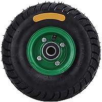 Rodamiento de acero,Neumático de carro de herramientas Rodamiento de carro de herramientas Acero, 10.5in 4.10/3.50-4 Resistente al desgaste Incorporado 6204-2RS Rodamiento de goma Carro de herramienta