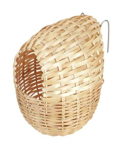 Kerbl Bambus Nest für exotische Vögel, 12x 11cm