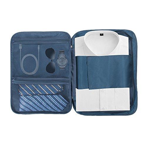 DIOSN - Portatrajes de viaje azul azul
