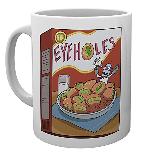 GB Eye LTD, Rick y Morty, Eye Holes, Taza