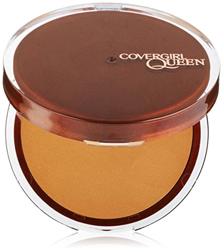 CoverGirl Queen Collection Lasting Matte Pressed Powder, Golden Medium, .37 oz by COVERGIRL