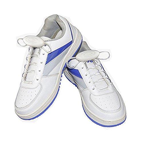 Xiaokesong® Ein Paar Glowing Flash LED Blinklicht Leuchtende Schuhbänder Schnürsenkel (Rot)