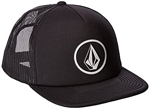 Volcom Unisex Full Frontal Chees Hat Trucker Cap Baseballmütze Snapback Schwarz Schildmütze, Black, One Size