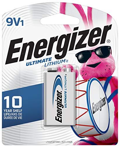 Energizer Ultimate Lithium 9V Battery (1 Count)