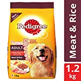 #9: Pedigree Dry Dog Food, Meat & Rice for Adult Dogs – 3 kg
