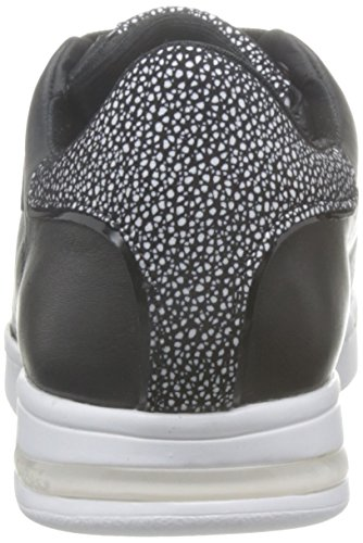 Geox D Jaysen A, Sneakers Basses Femme Noir (Blackc9999)