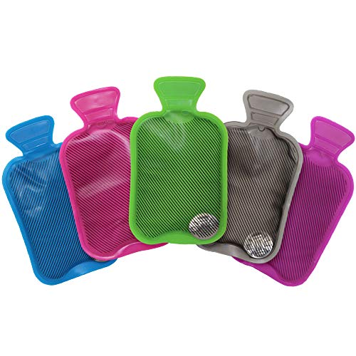 5 Mini Botellas de Agua Caliente