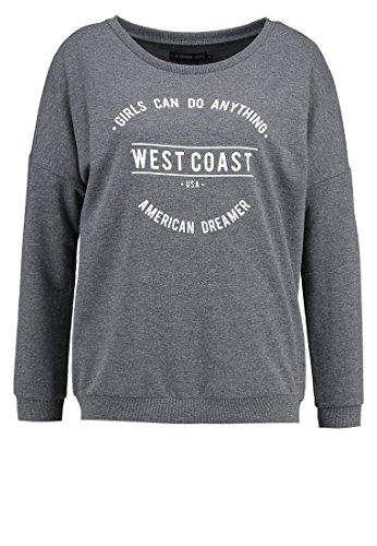 Converse Zara (Even&Odd Sweatshirt Damen - Pullover in Grau, M)
