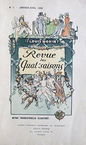 La revue des quat'saisons de 1900-1901, 4 tomes