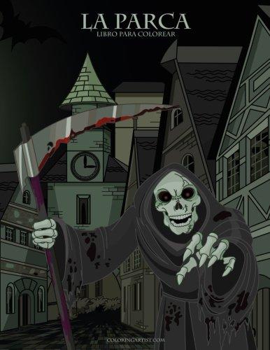 La Parca libro para colorear 1 (Halloween Fantasmas Colorear)