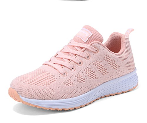 GUNAINDMX Shoes Shoes Winter New All-Match Leisure Pink Air Running Shoes