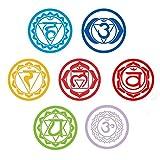 chongyixian quanping 7 Chakren Wandtattoo Yoga Reiki Meditation spirituellen Kunst Dekor Aufkleber