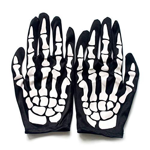 Kongqiabona Terror Skeleton Handschuhe Geist Knochen Für Erwachsene Halloween Dance Kostüm Party Performance Requisiten