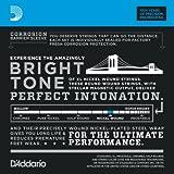 D\'Addario Cordes en nickel pour guitare électrique D\'Addario EXL115-10P, Medium/Blues-Jazz Rock, 11-49, 10 jeux