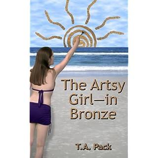 The Artsy Girl — in Bronze