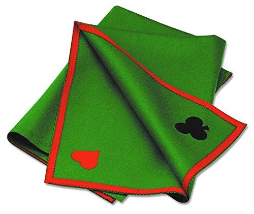 Outletdelocio. Tapete de juego para cartas. Alta calidad. Fieltro de pura lana 100% de 400 gramos /m2. Tamaño 90x90 cm
