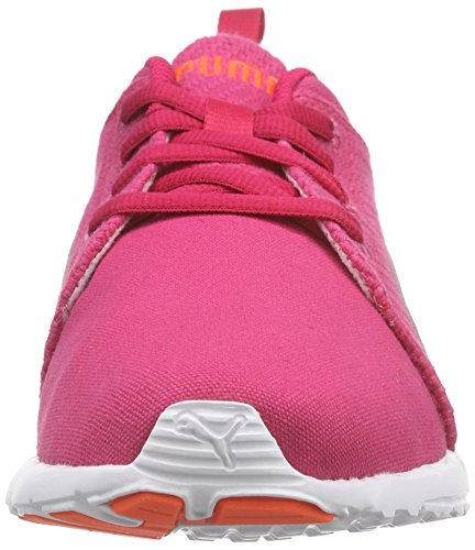 Puma Carson Runner CV, Chaussures de course mixte adulte Rose - Pink (rose red-white-fluo peach 02)