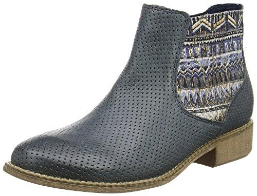 Laufsteg München Damen Stiefeletten Schuhe Damenschuhe Blau FS161005