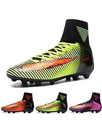 AKALI Botas de fútbol para niños Profesionales Zapatos de fútbol para Hombre