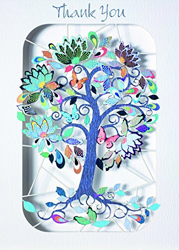 forever-handmade-cards-paper-mode-laser-cut-card-thank-you-exotic-flowering-tree-pm268