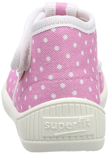 Superfit Bully, Chaussons montants fille Rose (kitty Kombi 67)