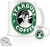 David Bowie Stardust Coffee Mug - Starbucks - Coffee - Album